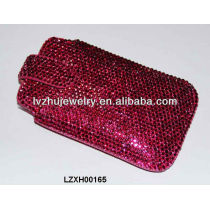 New Arrival Bling Rhinestone leather phone cases LZXH00165