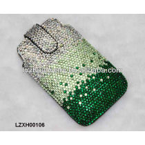 Rhinestone Leather Cell Phone wallet LZXH00106