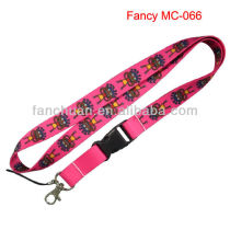 Custom printing id badge neck strap