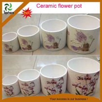 Mini ceramic flower pots cheap price