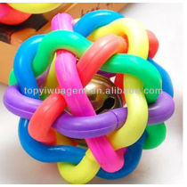 Colorful soft plastic toys for dogs