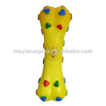 Bone shaped toys for dog