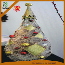 2013 christmas tree light gift with ball decoration