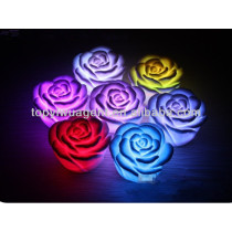 Colorful flower Shaped LED lamp