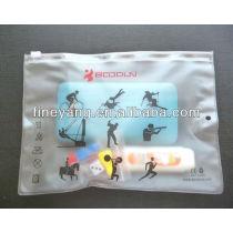 YIWU direct manufacturer PVC zip pocket