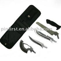 New Knife Iron 5 Pcs Set Fashionable Cheap Multi Knife