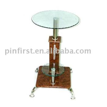 Lot 50 Glass Top Coffee New End Tables