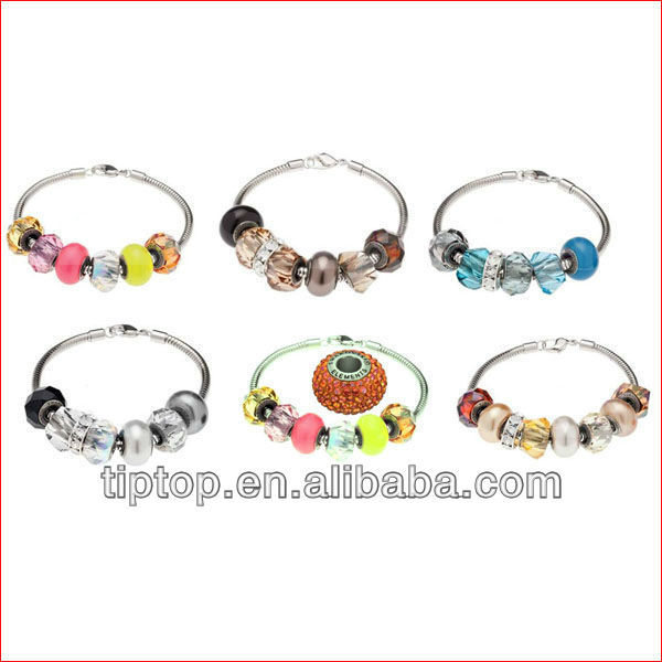 2013 fashion glass beads with images