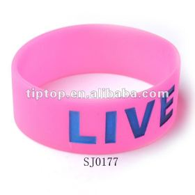 Debossed Silicone Band