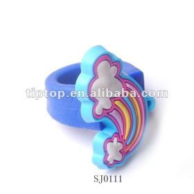 silicone rubber finger ring with multi shape