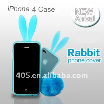 Cute Rabbit ear Mobile phone cases