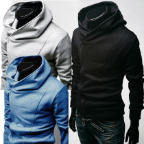 South Korea Men's Stylish Designed Thickening hoodie jacket / coat / sweatshirt 3 Colors 3406#