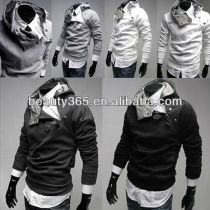 New Arrival Korean Jacket Hoodies Men's Coat Sweatshirt Zippered Cardigan