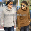 fashion Gloves Sleeve Thickening Turtleneck Knitting latest winter sweater designs for men