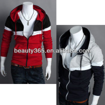 Men's Hoodies Stylish Designed Slim Fit Long Sleeve Coat Jacket 2 Colors