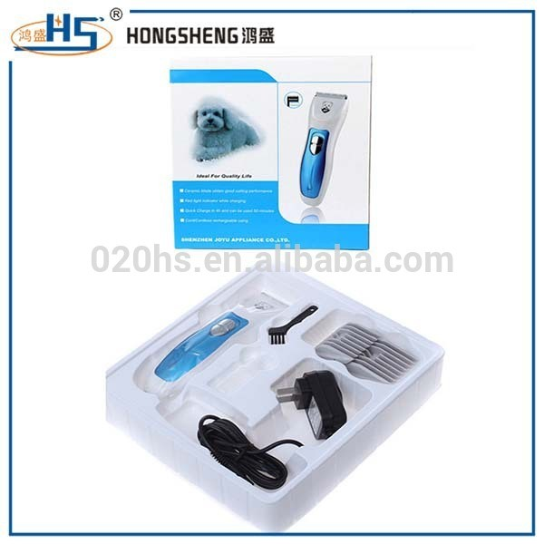 High quality rechargeable pet hair clipper