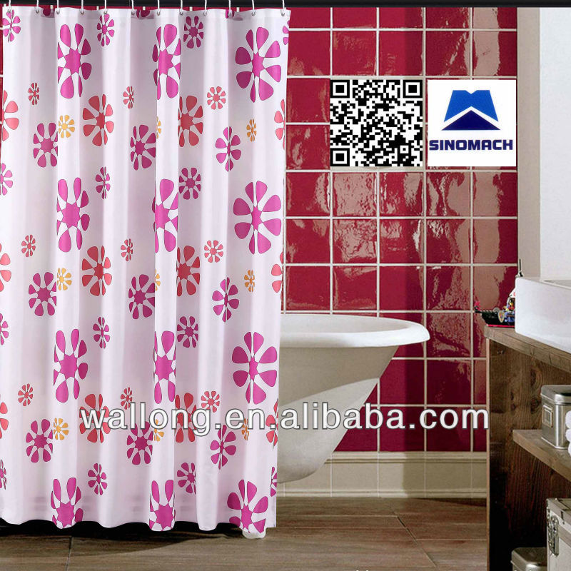 2013 100 Polyester Shower Curtain