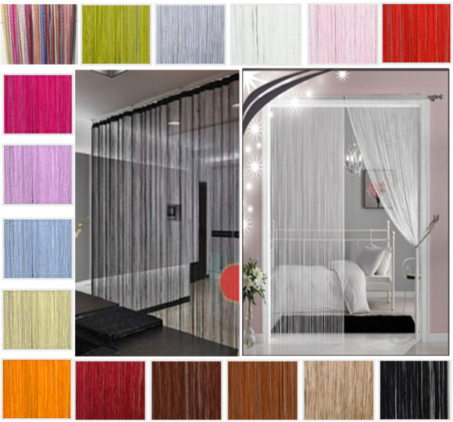 Decorative String Curtains for Windows Divider Cut To Size,China ...