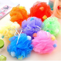 Colorful Cheap Body Bath Ball
