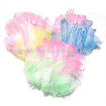 Colorful Cheap Mesh Bath Puff