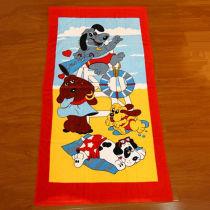 Microfiber Cotton Printed Children Bath Towel