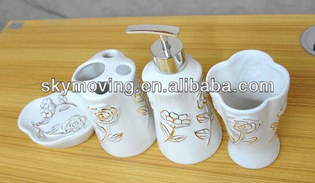 Ceramic modern bathroom accessories set buy modern bathroom accessories set bathroom set - Find porcelain accessory authentic ...
