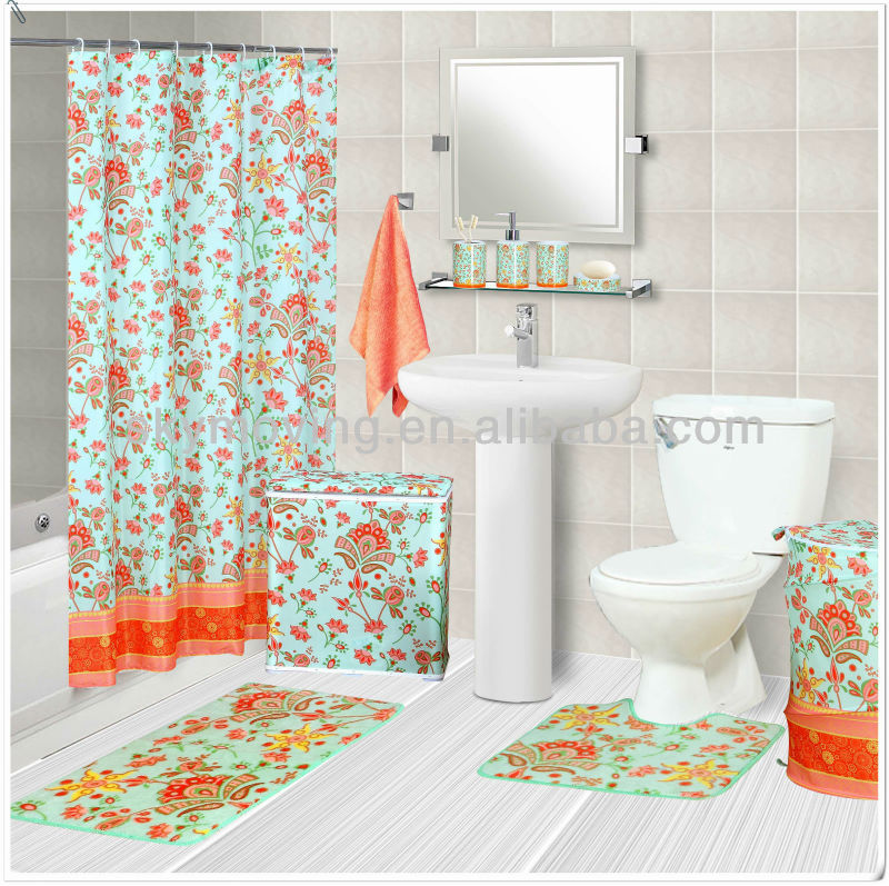 Printed Wholesale Shower Curtains