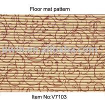 Vinyl Foam Floor coverings with Beautiful Design