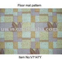Soft Printed PVC Foam floor carpets,floor area rugs