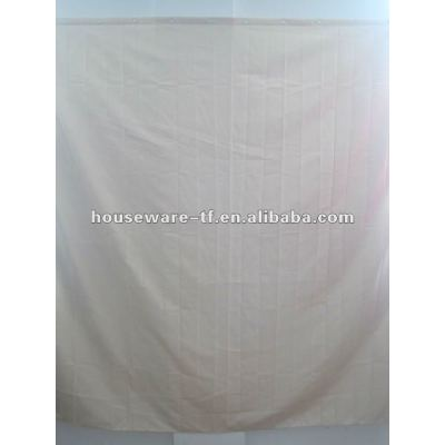 pure peva shower curtain with resin hooks
