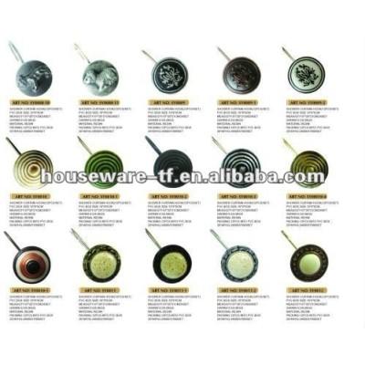 2013 hot-selling resin shower curtain hooks