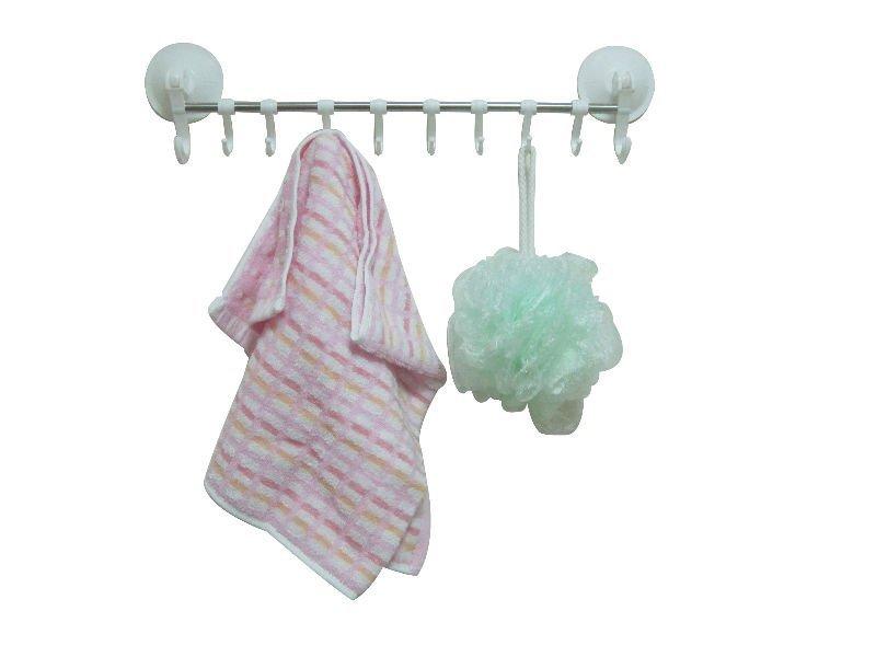 plastic bathroom towel shelf