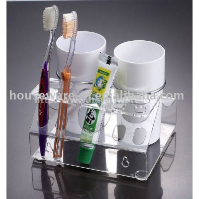 acrylic toothbrush holder,plastic toothbrush holder