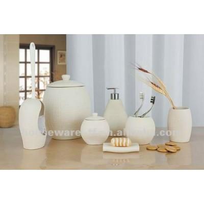 Resin Bathroom Tooth Utensil Set