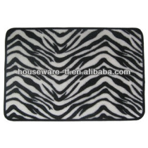 High quality washable polyester fiber bathroom mat