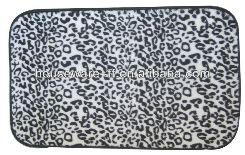 printing cotton bath mat