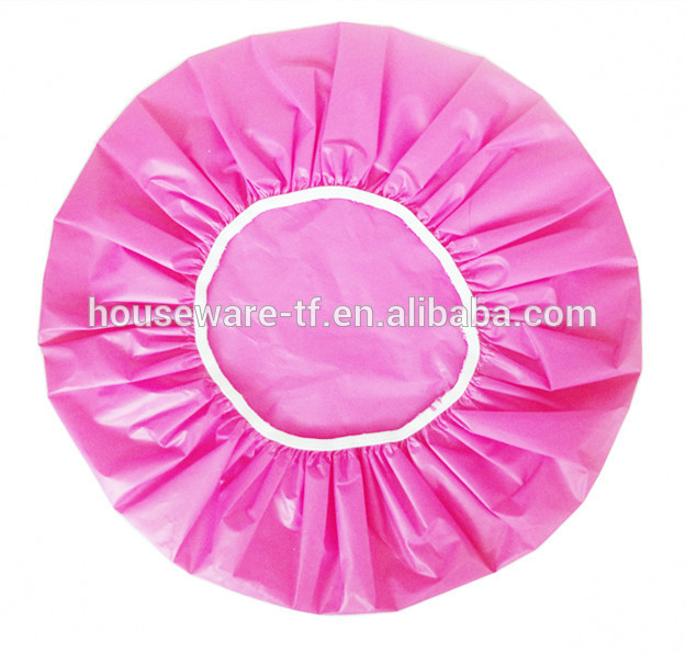 colorful design cheap fancy waterproof Shower Cap