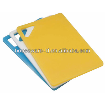 WHOLESALE palstic cutting board/chopping board