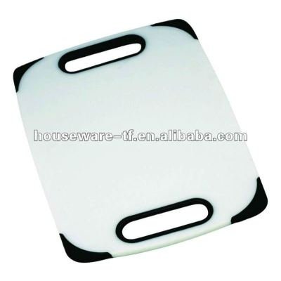 cutting board with two hand shank hole vegetable cutting board