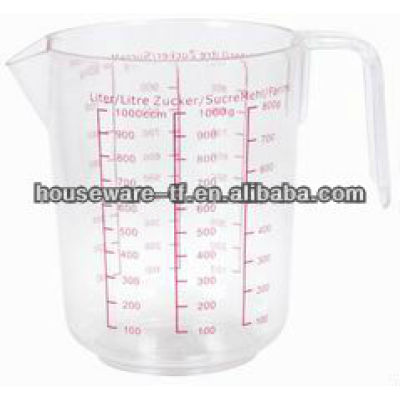2013 latest good quality PS plastic measuring cup