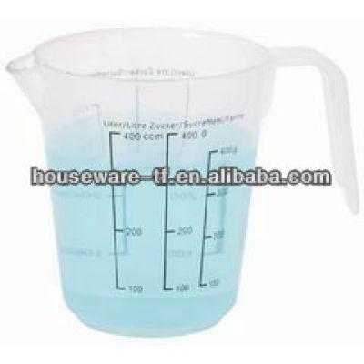 manufacturer supplys 400ML PP plastic measuring cup