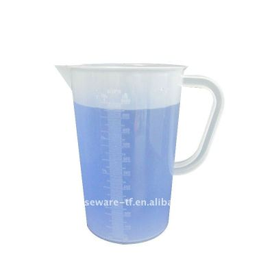 1000ml plastic measuring cup with scale and handle