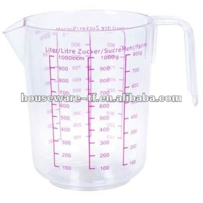 plastic measureing cup