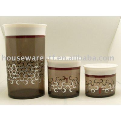 Plastic seal storage food container