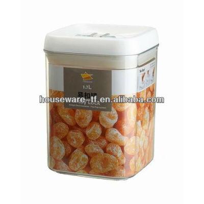 manufacturer supplys 1.7L fine quality plastic storage jar