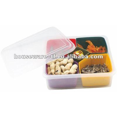 5 PCS multipurpose plastic candy box