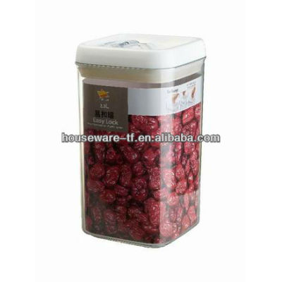 factory directly supplys 2.3L fine quality plastic storage box