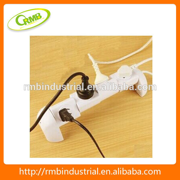 2014 hot sale 360 degree twist Detachable plug socket