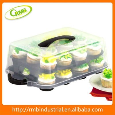 Kitchenware Cup Cake Plastic Storage
