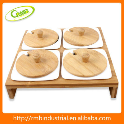 4/set hot ceramic condiment set(RMB)
